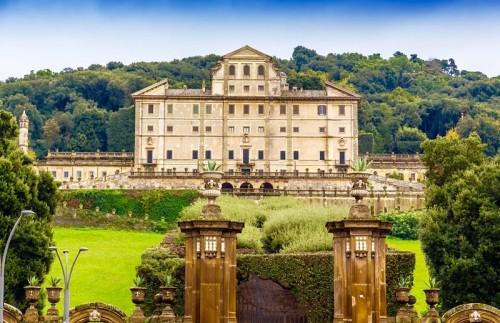 park and villa Aldobrandini in Frascati, Castelli Romani, Italy