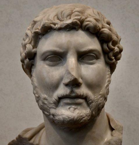 Резултат с изображение за Адриан става император на Римската империя.